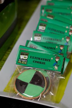 Caterina F's Birthday / ben 10 - Photo Gallery at Catch My Party Ben 10 Birthday, 10th Birthday Parties, Birthday Ideas, Bolo Do Ben 10, Ben 10 Cake, Ben 10 Party, Party Ideas, Party Favours, Hulk
