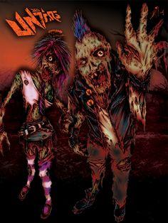 Zombies Dead Unders / Bolígrafo & digital.