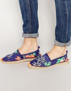 Image 1 of Superdry Printed Espadrilles