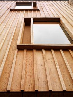 Cladding Materials, Timber Cladding, Exterior Cladding, Timber Architecture, Architecture Details, Wooden Facade, Austin Homes, Exterior Design, Construction