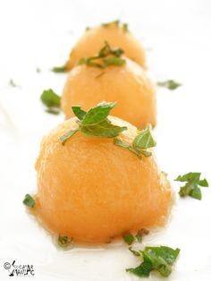 reteta pepene,sirop de menta Sorbet, My Recipes, Fruit, Food, Essen, Meals, Yemek, Eten