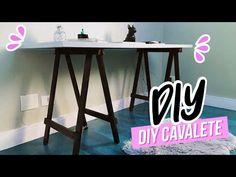 (1) DIY: MESA CAVALETE SEM GASTAR MUITO   Joyce Lima - YouTube