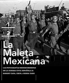 La maleta mexicana : las fotografías redescubiertas de la Guerra Civil Española de Robert Capa, Chim y Gerda Taro http://fama.us.es/record=b2402852~S5*spi