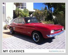 1971 Ford Capri classic car
