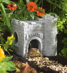 Cute toad house!