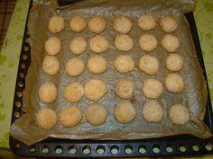 Cristina's world: Biscuiti simpli si deliciosi, cu cocos Bread, Food, Brot, Essen, Baking, Meals, Breads, Buns, Yemek