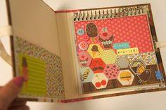 Artes Manuais com Kika Florence: Tutorial Caderno de Receitas