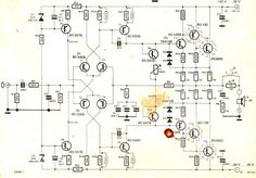 The mini crescendo 100 watt transistorized amplifier circuit explained here was built and tested by me and am extremely pleased by its performance and also its ruggedness as far as […] Electronics Projects, Sony Electronics, Electronics Basics, Electronic Circuit Design, Electronic Engineering, Hifi Amplifier, Audiophile, Power Supply Circuit, Electronic Schematics