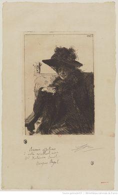 [Mme Armand Dayot] : [estampe] ([3e état]) / Zorn