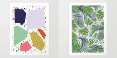 Seeing Shapes in Terrazzo with Society6