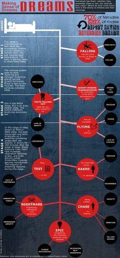 Understanding Your Dreams: What Do Your Dreams Mean Infographic  Lauren B Montana