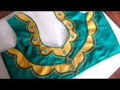 new and easy blouse back neck designe cuttin and stitching at home - YouTube