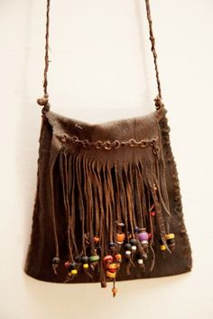 fringe.  Some mean kids on the school bus would pull the beads off my purse when I wasn't looking.