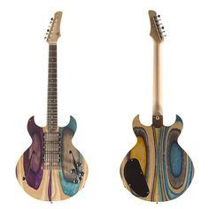 » Guitarras Hechas con Tablas de Skate Recicladas