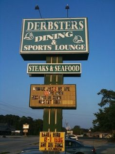 Derbster's, Calabash NC  Great place to visit and do a little singing! Only when my buddy, Cheryl Z is running karaoke! What a blast!