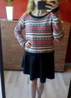 Kup mój przedmiot na #vintedpl http://www.vinted.pl/damska-odziez/swetry-z-dzianiny/14865389-kolorowy-cieply-sweter-pullover-na-jesien-zime