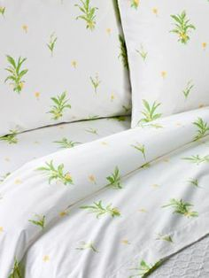 Lily of The Valley Percale Sheet Set at The Vermont Country Store