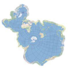 Spilhaus projection centered in Antartica - Vivid Maps Oceans Of The World, Cartography, Alien Logo, Animal Memes, High Quality Images, Best Funny Pictures, Beach Mat, Perspective, Outdoor Blanket