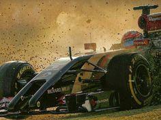 #8 Romain Grosjean...Lotus F1 Team...Lotus E22...Motor Renault Energy F1 2014 V6 t h 1.6...GP Australia 2014