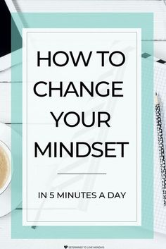 How developing a growth mindset practice in as little as 5-minutes a day can change your life is so many ways. Stop suffering from a fixed mindset by using this growth mindset practice. #growthmindset #manifestation #lifeskills #personalgrowth #personalde Fixed Mindset, Change Your Mindset, Success Mindset, Positive Mindset, Growth Mindset, Positive Behavior, Affirmations, Leadership, Entrepreneur