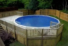 Enjoying an outdoor atmosphere around the swimming pool is relaxing, isn't it? That's why an above ground pool with deck is preferable because it gives access to such a comfort experience. Well, when we take a look at the options of swimming pool in a lot of living areas these days, we will find out that a lot of homeowners prefer having this type of swimming pool. It is not strange because this type of pool offers a lot of advantages for homeowners.