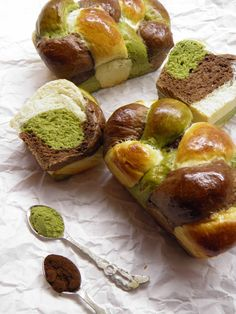 Matcha, Pretzel Bites, Baked Potato, Muffin, Potatoes, Bread, Baking, Breakfast, Ethnic Recipes