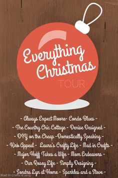 Everything Christmas Home Tours - Mad in Crafts
