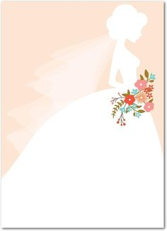The beautiful bride-to-be. The perfect card to accompany your wedding gift. Wedding Icon, Wedding Art, Wedding Images, Wedding Themes, Wedding Bride, Wedding Gifts, Pastel Wedding Invitations, Wedding Invitation Background, Wedding Background