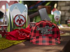Our Lumberjack Plaid party supplies won't disappoint when you throw him the greatest Lumberjack Plaid party of all time! Birthday Express contributes all the Boys Party Supplies you need to ensure this day is special! Man Birthday, Boy Birthday Parties, Lumberjack Party, Lumber Jack, Party Packs, Party Supplies, Party Ideas, Camping, Baby Showers