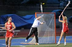 Naturally, the Mount's goalie stopped the ball!