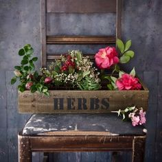 Vintage Plant Box — 3 Ways | Free Project and Design Inspiration from The Studio