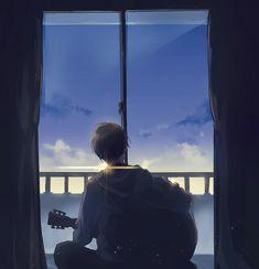 Sky Anime, Anime Guys, Manga Anime, Anime Art, Wallpaper Animes, Anime Scenery Wallpaper, Cartoon Wallpaper, Aesthetic Anime, Aesthetic Art