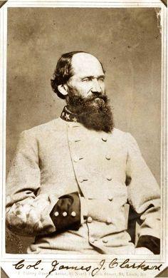Colonel James J. Clarkson, Confederate Army. Carte de visite photograph by J. Sidney Brown, St. Louis, ca. 1862. Missouri History Museum.
