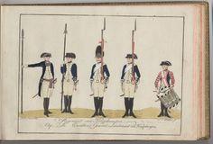 Regiment von Knÿphausen - 1784