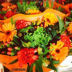 #orange #bouquet from #floraholland