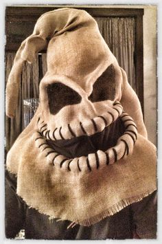 Oogie Boogie A Nightmare Before Christmas.   This is the head that i need to make.