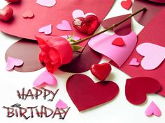 Romantic Happy Birthday wishes with Images. Romantic Birthday Wishes for Him and Her – Boyfriend and Girlfriend., Birthday Messages for Lovers – Romantic Birthday Wishes Birthday Wishes For Fiance, Romantic Birthday Wishes, Happy Birthday Messages, Happy Birthday Images, Girlfriend Birthday, Birthday Quotes, Birthday Greetings, Valentines Day Sayings, Happy Valentines Day Pictures