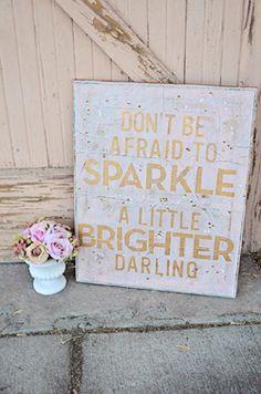 Sparkle Brighter