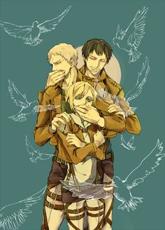 Shingeki No Kyojin Bertholdt Y Reiner Dowload Anime Wallpaper Hd