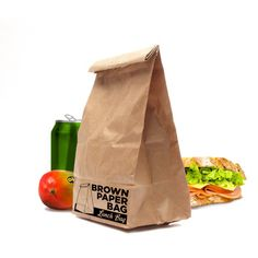 Brown Paper Bag Lunch Bag now featured on Fab.