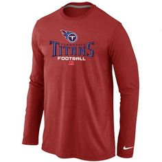 5fd6f888f Nike Tennessee Titans Critical Victory Long Sleeve T-Shirt Red @Emillia  Kelly Buffalo Sabres