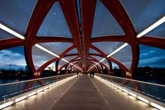 BTP Photography  The Peace Bridge  Calgary