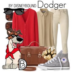 Dodger by leslieakay on Polyvore featuring Uniqlo, J Brand, Converse, The Cambridge Satchel Company, Anne Klein, H&M and Esquivel