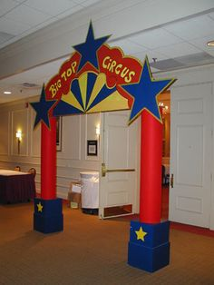Big Top Circus Entrance