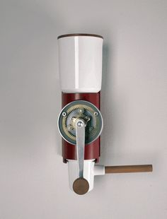 Wall mounted coffee grinder by Arvid Häusser