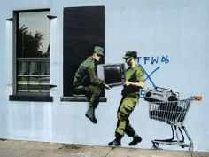 Banksy Hits Up New Orleans | The Fox Is Black