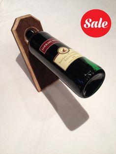 Handmade Balanced Wine Bottle Holder  SALE by UniquesTR on Etsy, £5.99