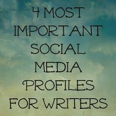 Social Media and Public Profiles have become very important for authors and readers alike. It is one of the main ways for authors to sell their books, and it is one of the best ways for readers to keep up with their favorite authors, interact with them, and watch for the author's latest books.