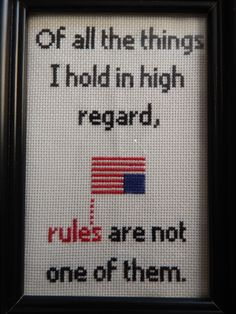 House of Cards quote