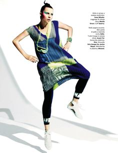 glam sport: egle tvirbutaite by chris craymer for amica may 2013